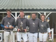 Wodehouse Stud Team wuth Winners Trophy May 2014